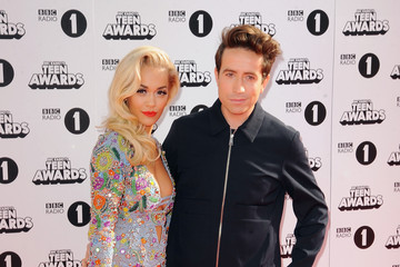 Nick Grimshaw Rita Ora Radio One Teen Awards - Red Carpet Arrivals