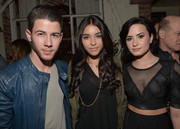 Madison Beer accessorized her outfit with a gold chain for the 'Jealous' celebration.