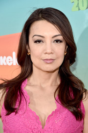 Ming-Na Wen looked lovely with her side-parted waves at the Nickelodeon Kids' Choice Awards.