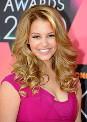 These perfectly coifed curls hugged Gage Golightly's face.