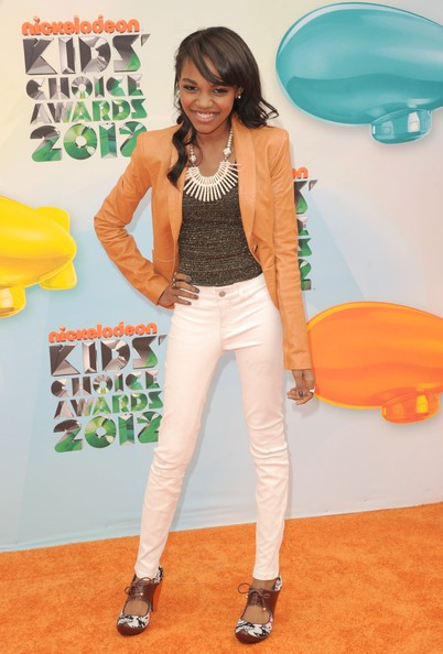 More Pics of China Anne Mcclain Long Side Part (4 of 4) - China Anne Mcclain Lookbook - StyleBistro