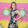 Kiernan Shipka at Nickelodeon's 26th Annual Kids' Choice Awards