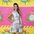 Jessica Alba Wore Mary Katrantzou at Nickelodeon's 26th Annual Kids' Choice Awards 2013