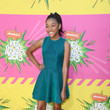 Amandla Stenberg at Nickelodeon's 26th Annual Kids' Choice Awards 2013