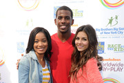 Victoria Justice and Chris Paul Photo