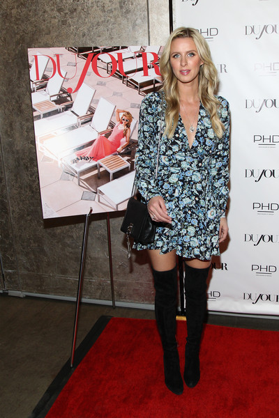 Nicky Hilton Leather Shoulder Bag