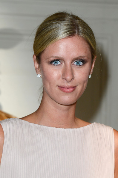 Nicky Hilton Bobby Pinned Updo