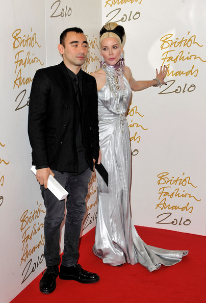 British Fashion Awards - Winners Boards