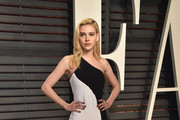 Nicola Peltz One Shoulder Dress
