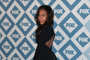 Nicole Beharie Little Black Dress