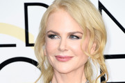 Nicole Kidman Layered Diamond Necklace