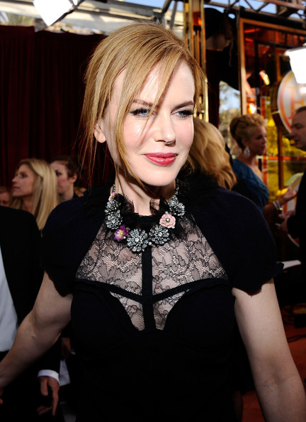Nicole Kidman Diamond Statement Necklace