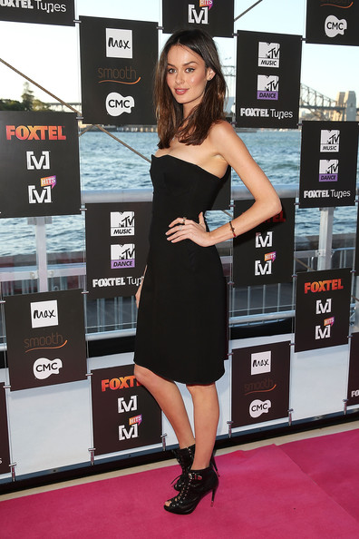 Nicole Trunfio Little Black Dress