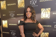 Niecy Nash Off-the-Shoulder Dress
