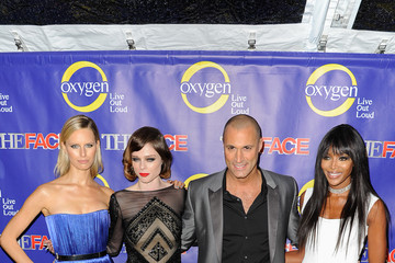 "Nigel Barker Karolina Kurkova ""The Face"" Series Premiere"