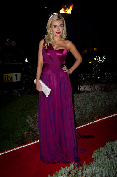 More Pics of Katherine Jenkins Satin Clutch (1 of 3) - Katherine Jenkins Lookbook - StyleBistro