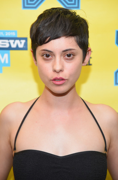 Rosa Salazar worked a cute pixie cut at the SXSW premiere of 'Night Owls.'