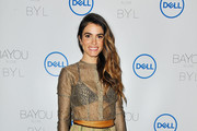 Nikki Reed Sheer Top