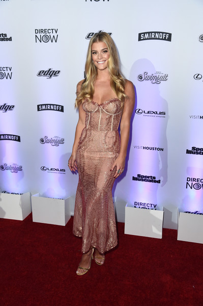 Nina Agdal Corset Dress