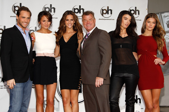 SI Swimsuit Models Planet Hollywood Handprint Ceremony