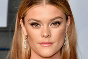 Nina Agdal Long Straight Cut