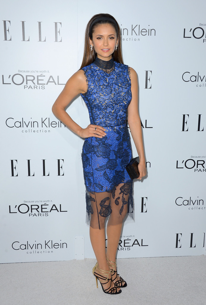 Nina Dobrev Cocktail Dress Nina Dobrev Looks Stylebistro