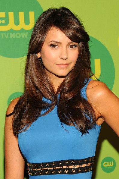 Nina Dobrev Layered Cut