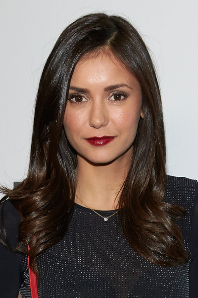 Nina Dobrev Long Wavy Cut