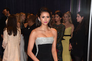 Nina Dobrev Satin Clutch