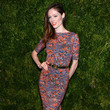 Coco Rocha in Fitted Prints