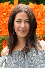 Rebecca Minkoff opted for a modern layered cut when she attended the Veuve Clicquot Polo Classic.