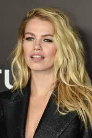 Hailey Clauson channeled Brigitte Bardot with this teased hairstyle at the New York premiere of 'Nocturnal Animals.'