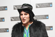 Noel Fielding Fur Coat