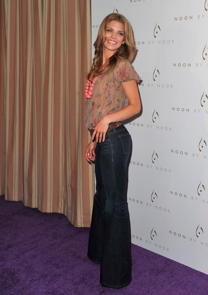 More Pics of AnnaLynne McCord Flare Jeans (1 of 13) - Flare Jeans Lookbook - StyleBistro