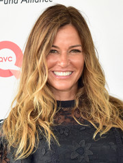 Kelly Bensimon sported tousled waves during OCRFA's Super Saturday.