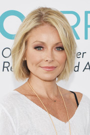 Kelly Ripa showed off a chic bob at the 2017 Super Saturday benefit.