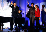 Michelle Obama was oh-so-chic in her black swing jacket at the National Christmas Tree Lighting Ceremony.