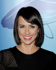 Constance Zimmer wore her hair in a basic bob when she attended the Oceana Partners Awards Gala.