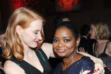 Octavia Spencer Jessica Chastain The 23rd Annual Palm Springs International Film Festival Awards Gala - After Party At Parker Palm Springs