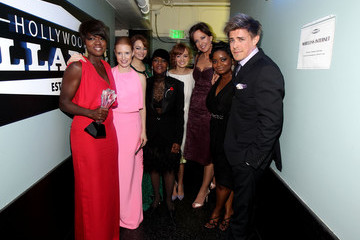 Octavia Spencer Jessica Chastain 17th Annual Critics' Choice Movie Awards - Backstage And Audience