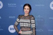 Olga Kurylenko Form-Fitting Dress