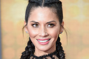 Olivia Munn French Braid