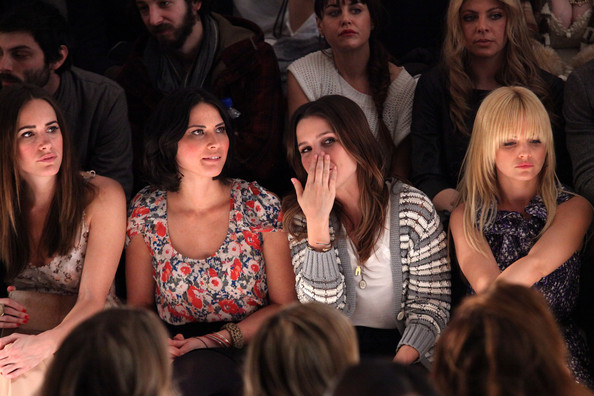 TRESemme at Charlotte Ronson - Front Row - Fall 2011 Mercedes-Benz Fashion Week
