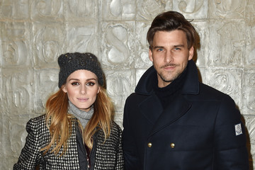 Olivia Palermo Johannes Huebl Moncler Grenoble FW 16-17 New York Fashion Week - Arrivals/Front Row