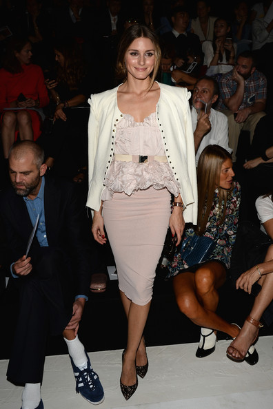 Olivia Palermo Fitted Jacket