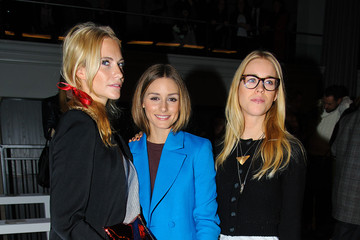 Olivia Palermo Poppy Delevingne Anya Hindmarch: Front Row - London Fashion Week AW14