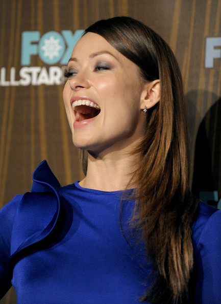 Olivia Wilde Diamond Hoops