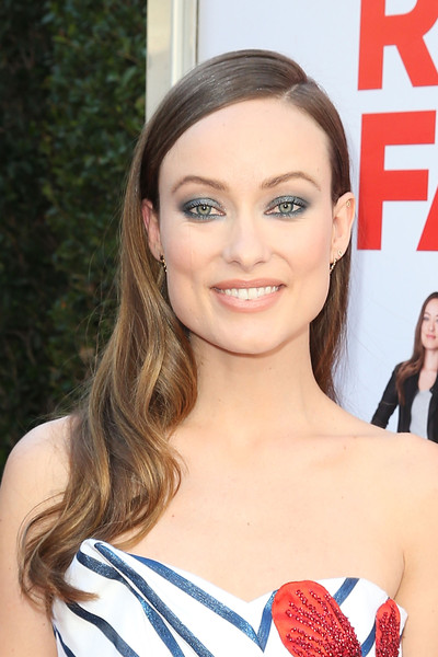 Olivia Wilde Long Side Part