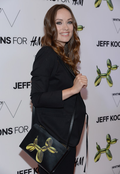 Olivia Wilde Printed Shoulder Bag