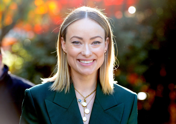 Olivia Wilde Medium Straight Cut [hair,face,beauty,head,blond,lady,smile,lip,human,portrait photography,directors,olivia wilde,creative impact awards,varietys creative impact awards,palm springs,california,brunch,palm springs international film festival - variety]